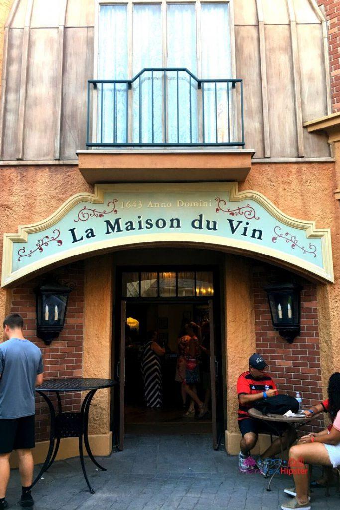La Maison du Vin France Pavilion Epcot Wine Shop