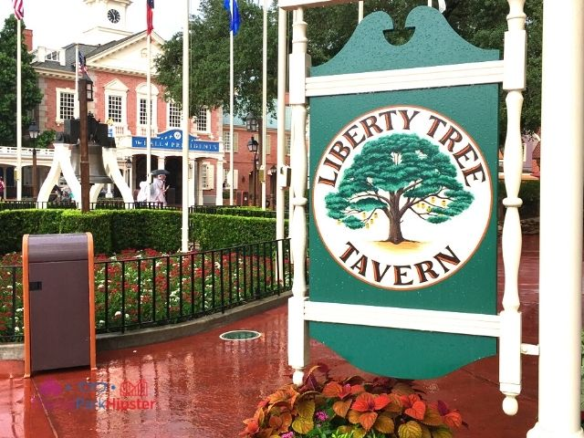 Liberty Tree Tavern Entrance Magic Kingdom