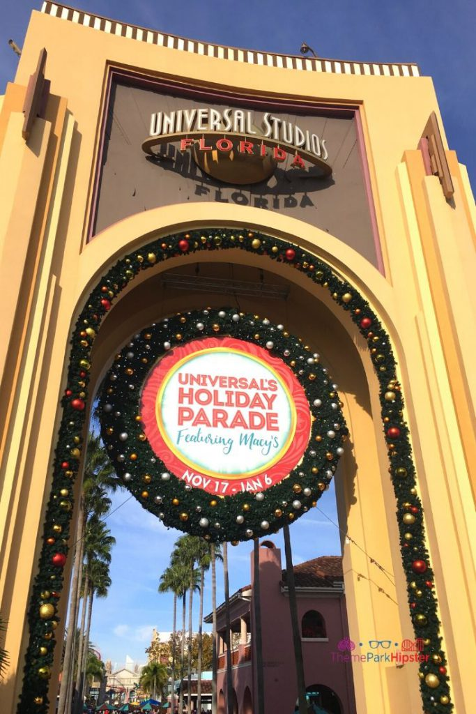 Macys Holiday Parade at Universal Studios Orlando Florida