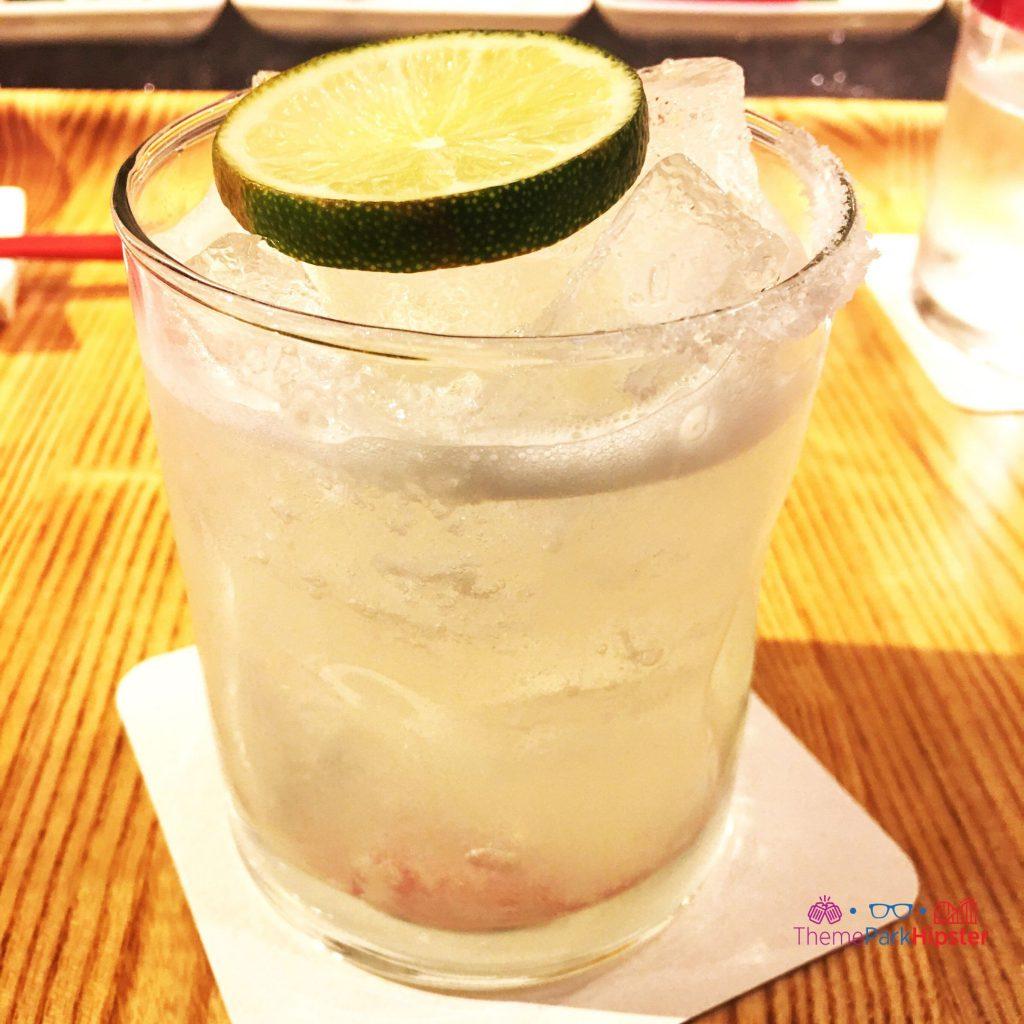 Margarita at Morimoto Asia inside Disney Springs