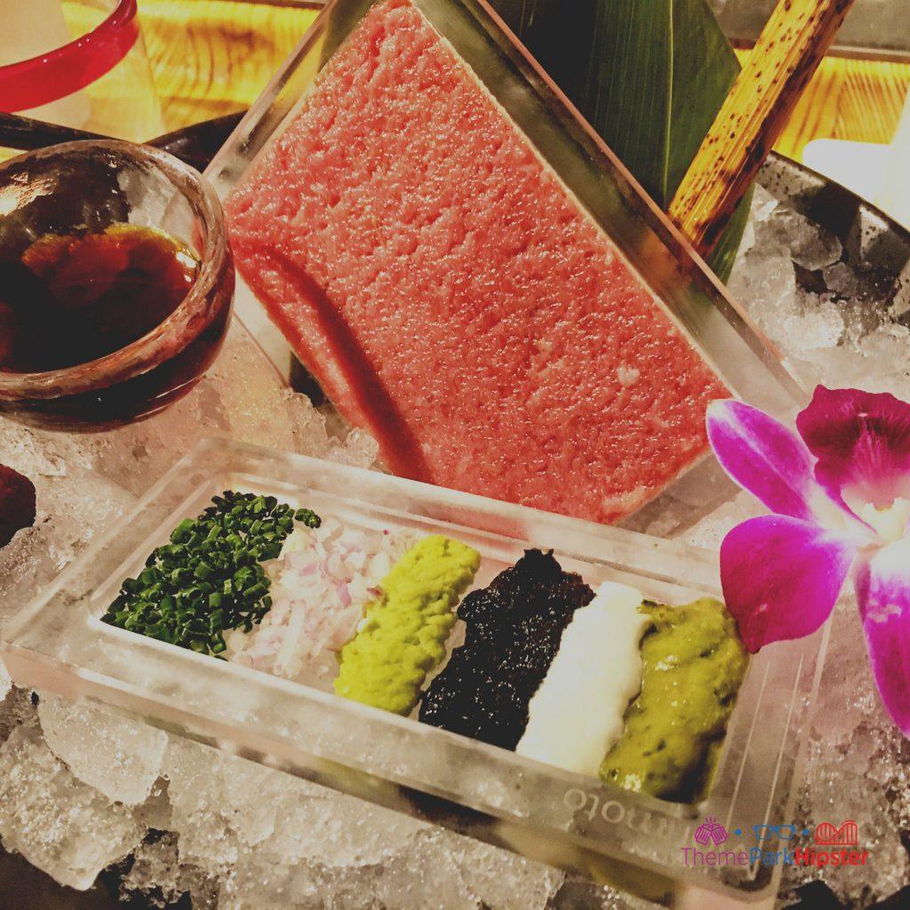 Morimoto Asia Toro Tuna Tartare in Disney Springs