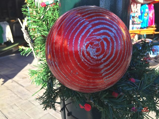 SeaWorld Christmas Decorations with Red Bulb