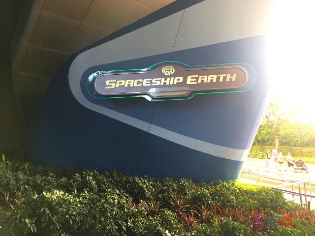 Spaceship Earth at Epcot Entrance. Best Fastpasses for Epcot.