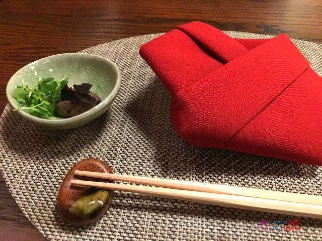 Takumi Tei Japanese Restaurant Amuse Bouche