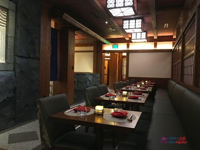Epcot Japanese Restaurant Stone Room