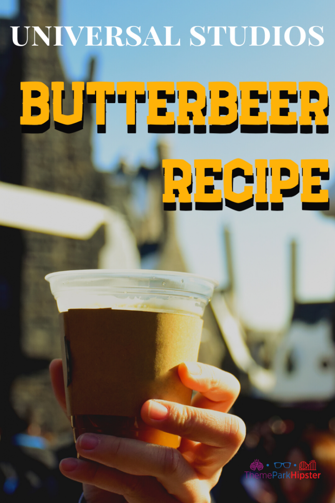 Best Butterbeer recipe from universal studios
