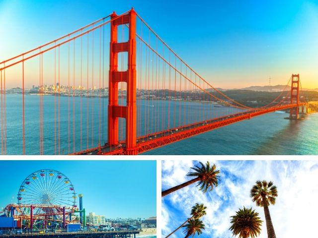 Golden Gate Bridge in San Francisco. Learn the best California Road Trip Tips.
