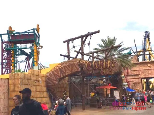 Cobra's Curse in Busch Gardens Tampa Entrance