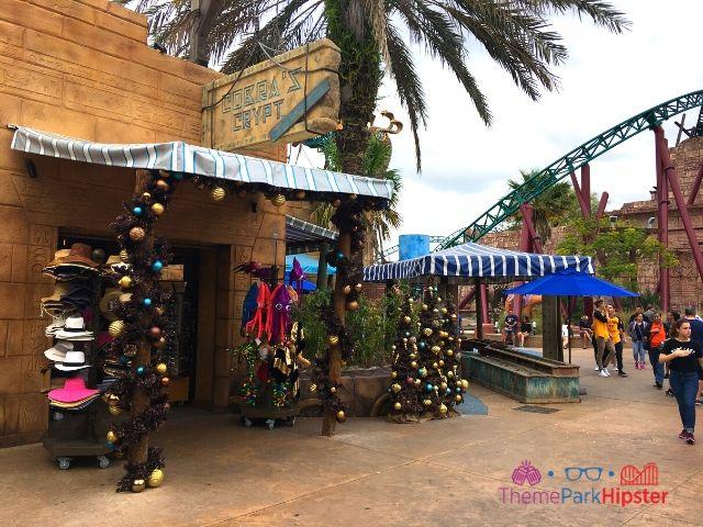 Cobra's Curse in Busch Gardens Tampa Gift Shop Exit