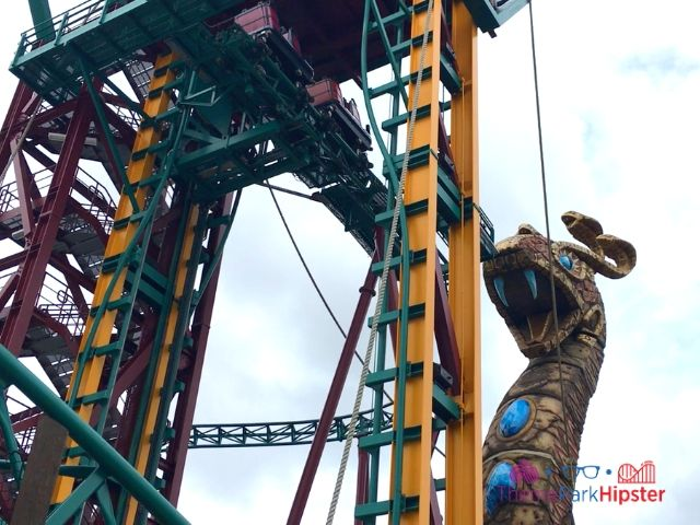 Cobra's Curse in Busch Gardens Tampa Lift