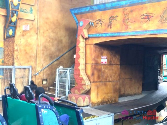 Cobra's Curse in Busch Gardens Tampa Loading Zone