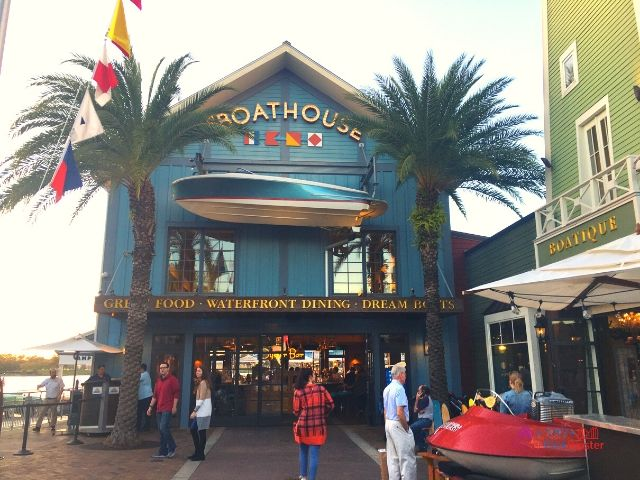 Disney Spring Boathouse. Safety tips for solo travel.