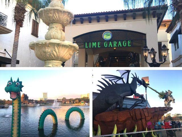 Disney Springs Lime Garage Levels