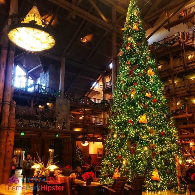 Disney Wilderness Lodge Christmas Tree