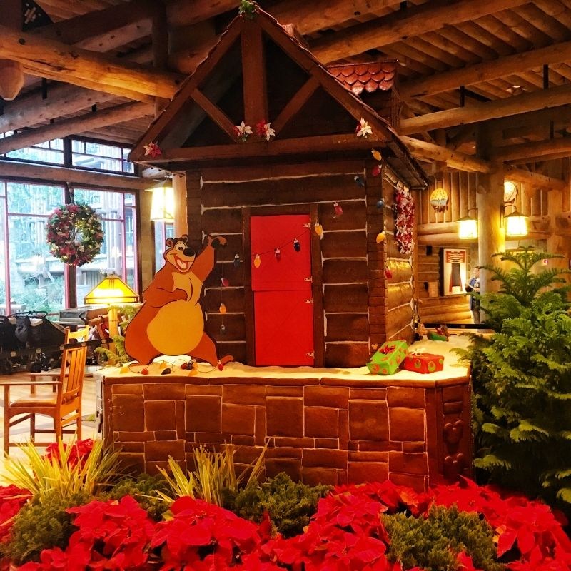 Disney Wilderness Lodge Ginger Bread House