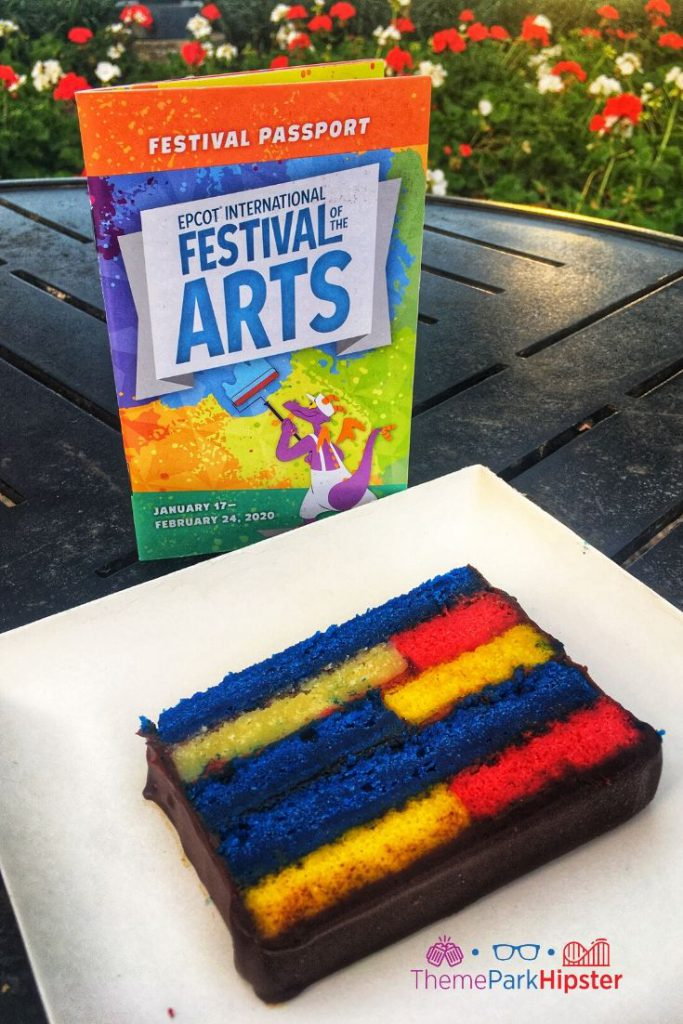 Epcot Festival of the Arts POP Eats Cake
