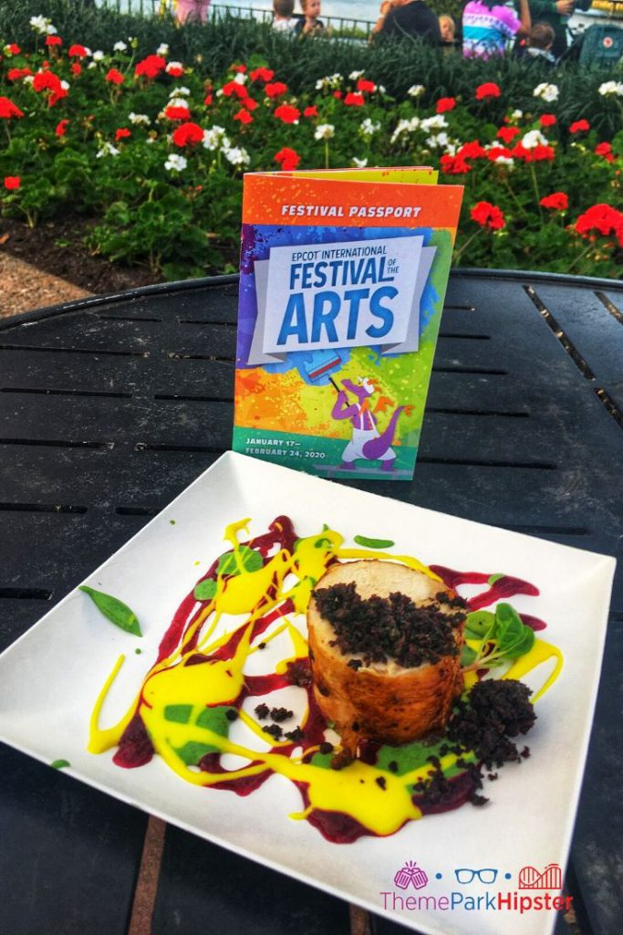 Epcot Festival of the Arts POP Eats Chicken Art