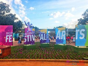 Epcot Festival of the Arts Signage