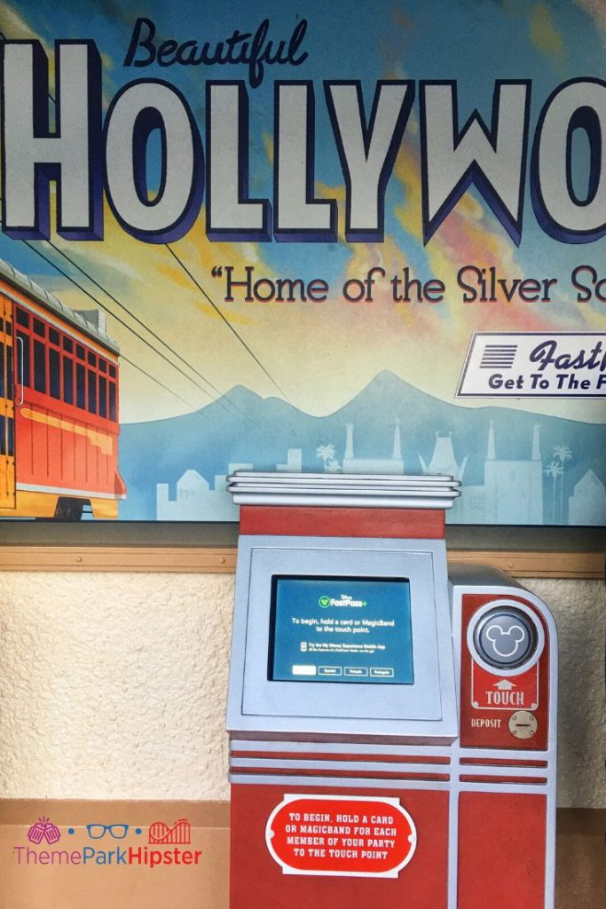 Hollywood Studios FastPass Kiosk