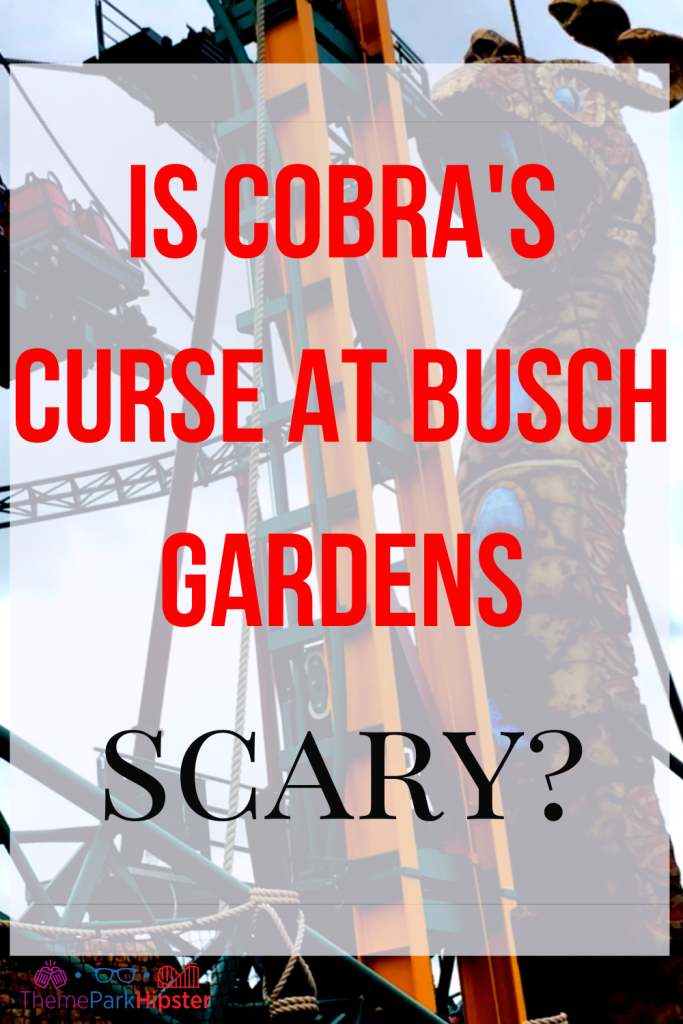 Is Cobra's Curse at Busch Gardens Scary