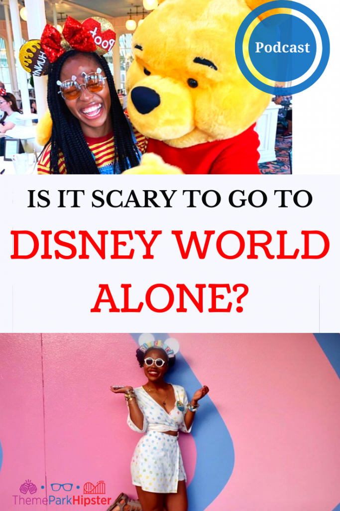 Solo Disney Trip Report with woman and Winnie the Pooh