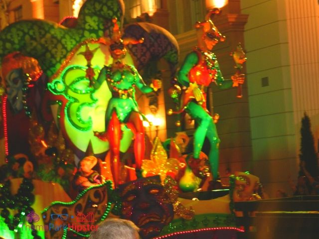 Mardi Gras Parade at Universal Studios Day Jesters Float