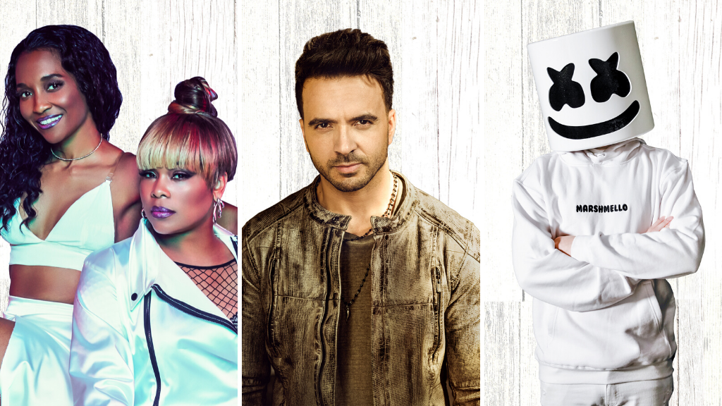 Marshmello, Luis Fonsi, TLC and More to Perform Live at Universal Orlando Resort