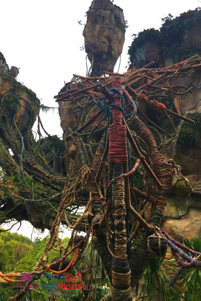 Pandora Flight of Passage Outdoor Queue Entrance with Floating Mountains