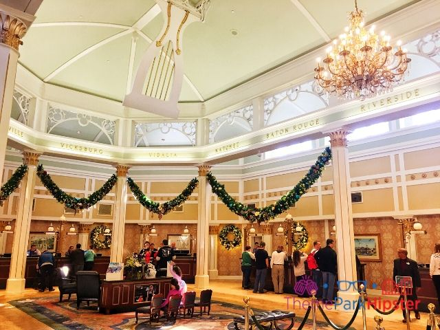 Port Orleans Riverside Resort Lobby