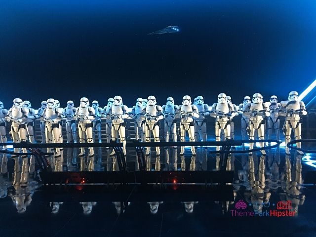 Rise of the Resistance Fleet of Storm Troopers