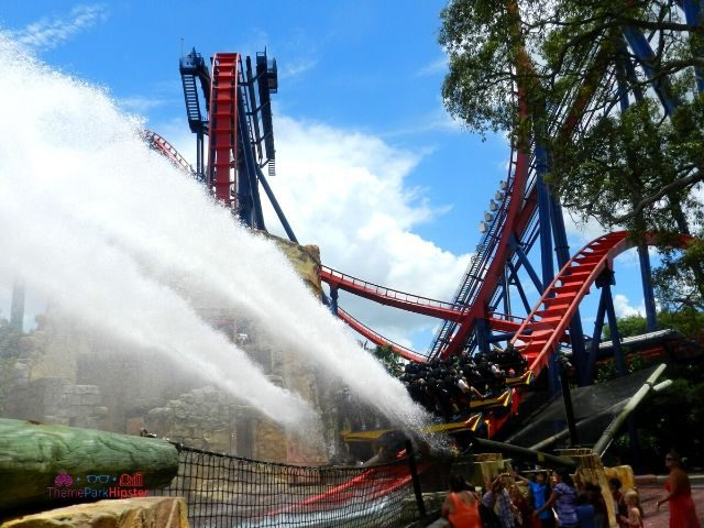 Sheikra Busch Gardens Water Splash Zone