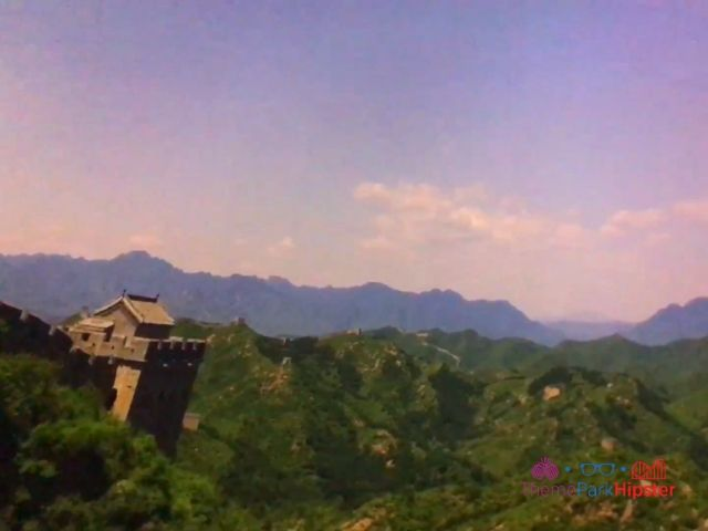 Soarin Around the World Great Wall of China Scene
