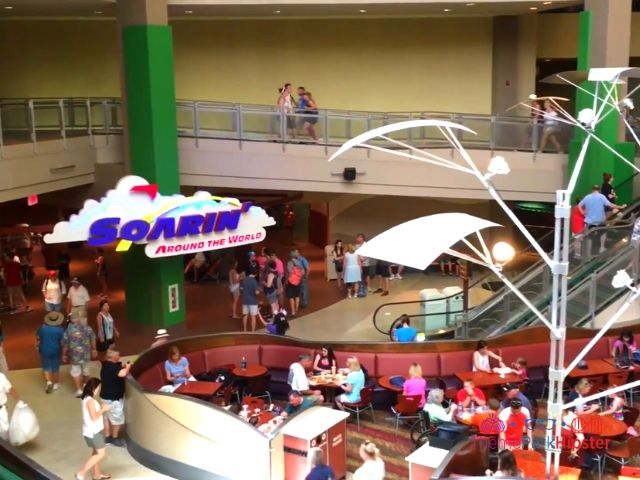 Soarin at Epcot Entrance in the Land Pavilion