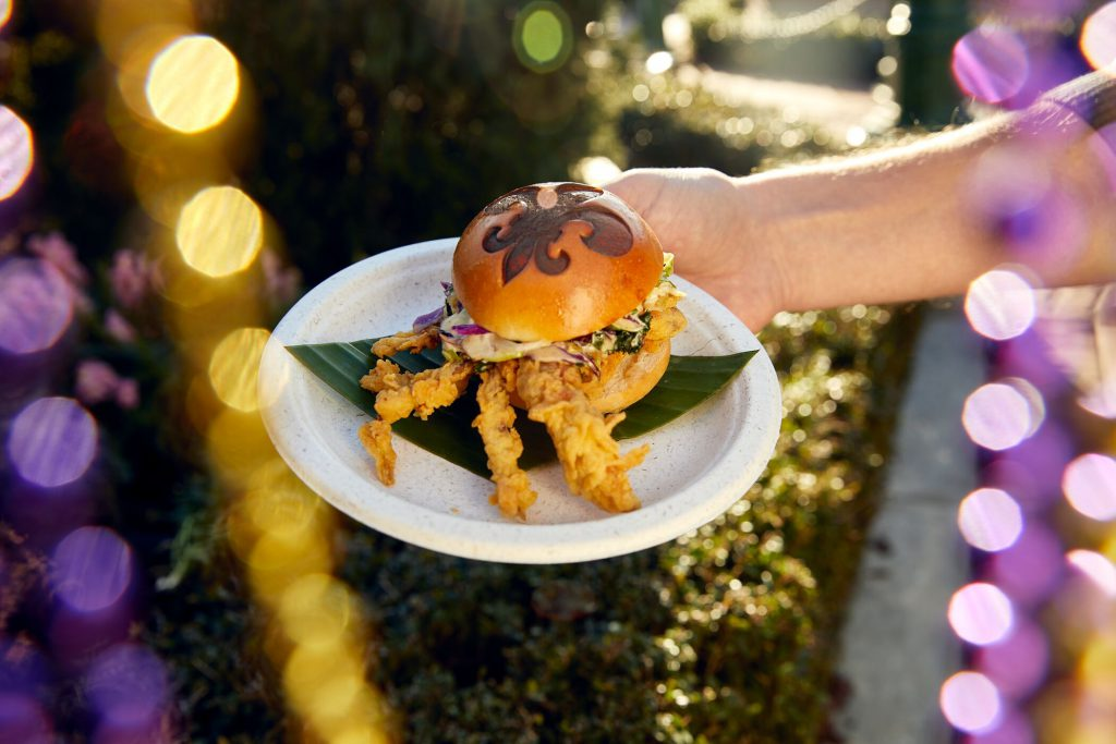 Softshell Crab Slider Carnival Around The Universe