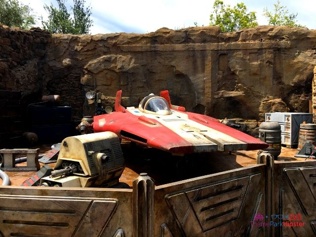 Star Wars Galaxy Edge Flying Equipment at Disney Hollywood Studios