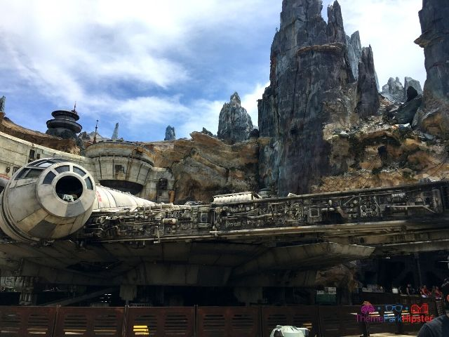 Star Wars Galaxy Edge Smugglers Run Entrance at Disney Hollywood Studios