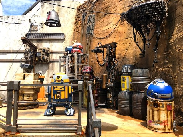 Star Wars Galaxy's Droid Depot Junk Area in Hollywood Studios