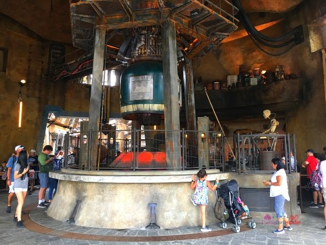Ronto Roaster Dining Area at Hollywood Studios.