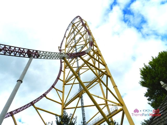 Top Thrill Dragster at Cedar Point Roller Coaster