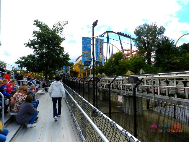 Top Thrill Dragster at Cedar Point Roller Coaster Watching Area