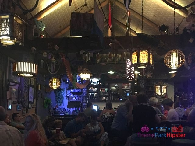 Trader Sam Grog Grotto Bar Area