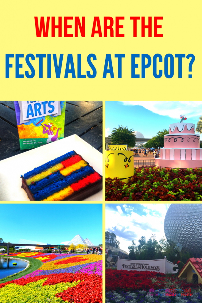 When are the Festivals at Epcot