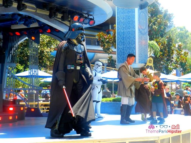 Disneyland Darth Vader on Stage