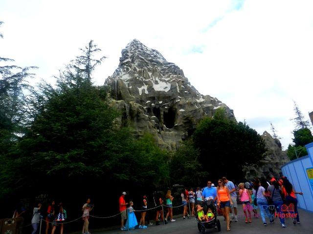 Disneyland Matterhorn Ride Mountain