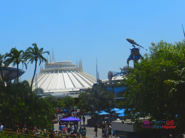 Disneyland Space Mountain. A great choice for your Disneyland itinerary.