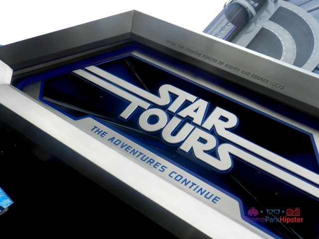 Disneyland Star Tours Entrance