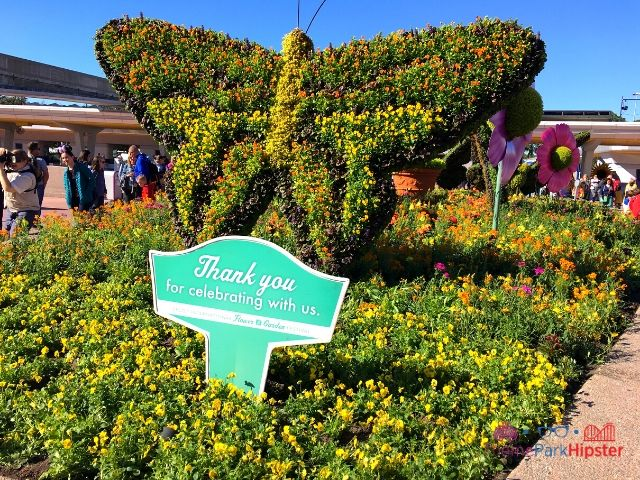 Epcot Flower and Garden Festival Butterfly Topiary