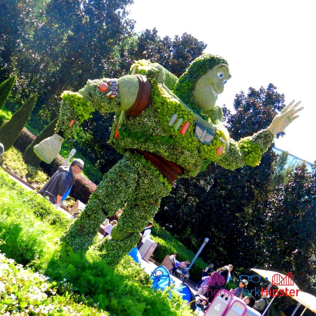 Epcot Flower and Garden Festival Buzz Lightyear Topiary