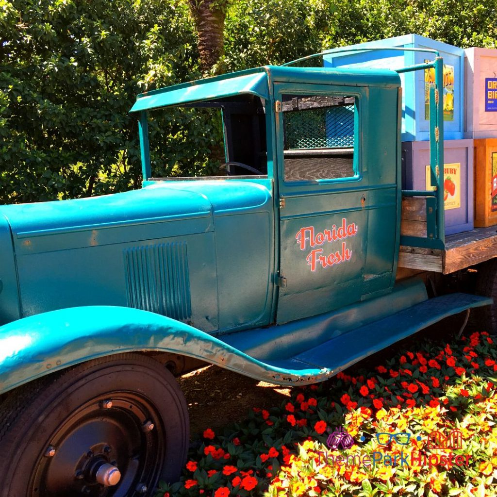 Epcot Flower and Garden Festival Florida Fresh Truck