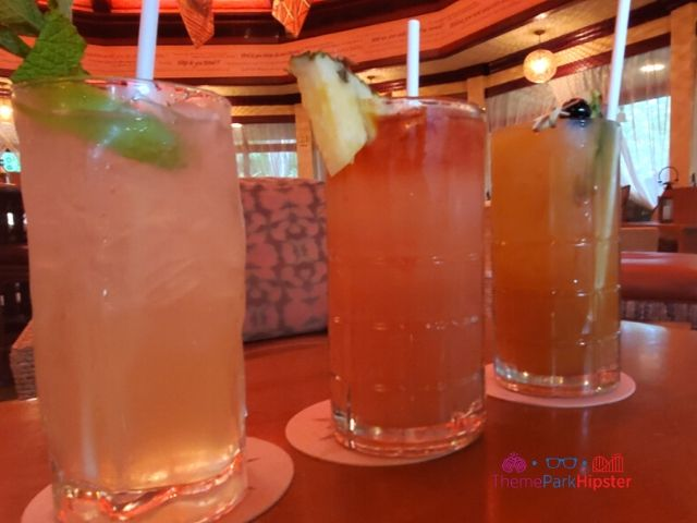 Nomad Lounge cocktails at Animal Kingdom